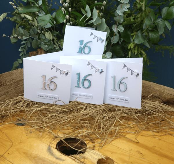 16th Birthday Cards