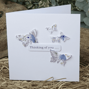 Butterfly Hand Made Card