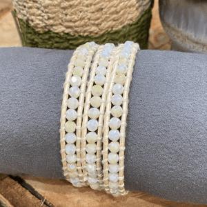 Ivory Crystal bracelet