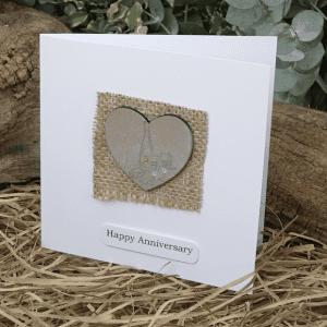 Anniversary Hand Made Card
