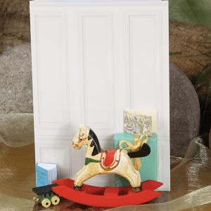 Rocking horse hand made card