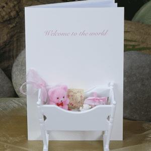 Baby Crib Pink Hmc