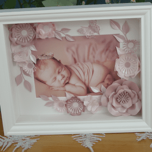 Baby Box Flower frame