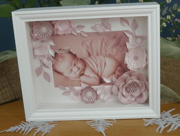 Baby Box Flower frame
