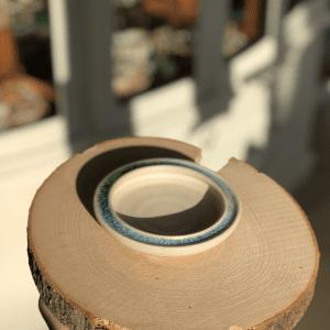 Small Flat Pottery Dish