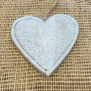 Wooden Christmas Decoration Heart
