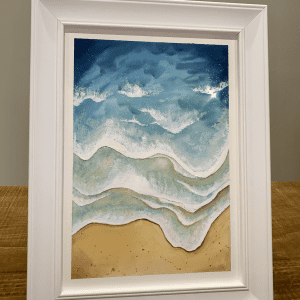 Sparkling Waves Small
