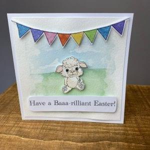 Easter Card Baaaa-illiant