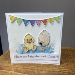 Egg-Shellent Easter Card
