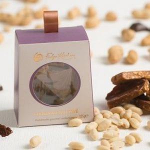 Chocolate Nut Pave Brittle
