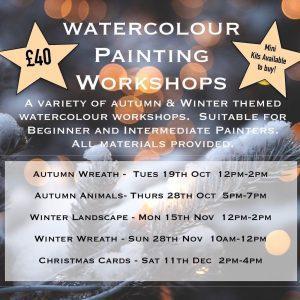 Watercolour Painting Workshops