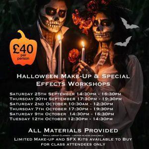 Halloween Make Up Workshop